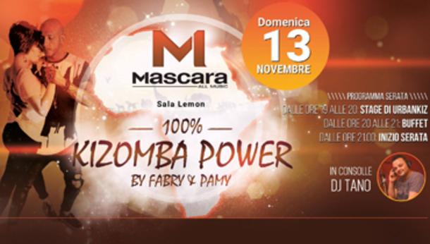 Mascara, 100% Kizomba Power!