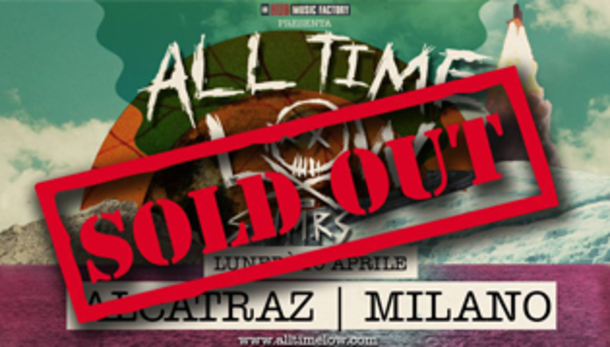 All Time Low + SWMRS at Alcatraz, Milano, SOLD OUT