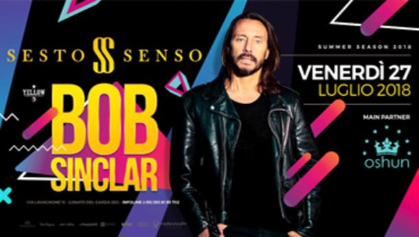 Bob Sinclair @ discoteca Sesto Senso!