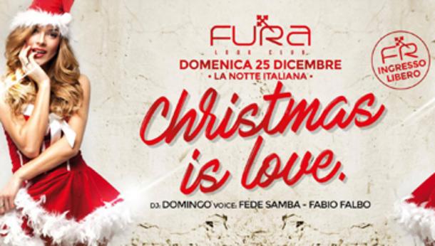 Natale 2016 alla discoteca Fura!