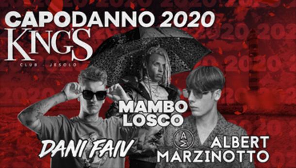 Capodanno 2020 alla discoteca KING'S Jesolo!