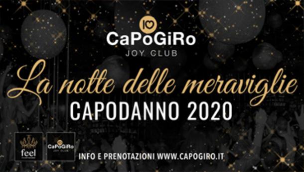 Capodanno 2020 alla discoteca Capogiro