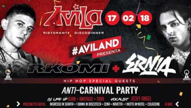 Carnevale 2018 @ Avila!
