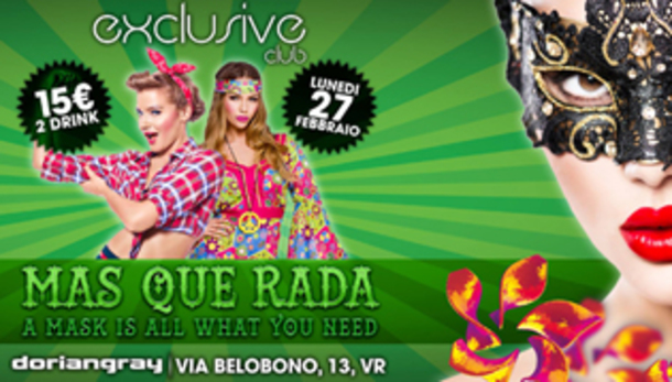 Exclusive MAS QUE RADA @ discoteca Doriangray