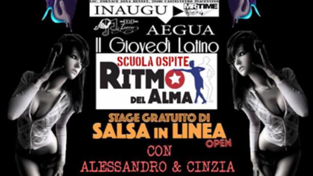 Giovedì Latino @ Aegua Castelvetro Piacentino