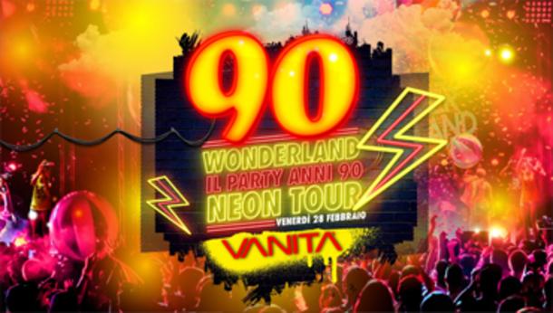 90 Wonderland Mantova - Discoteca Mascara