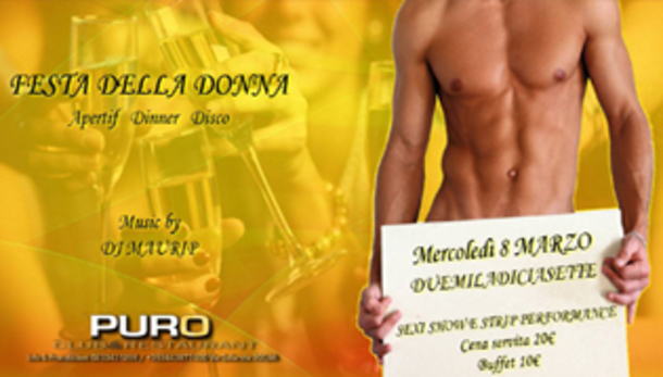 Festa della Donna @ Puro Club & Restaurant Milano
