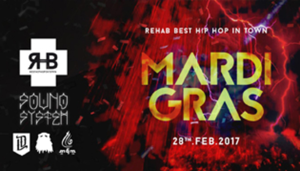 Rehab Carnival Party - Take Me To The Mardi Gras