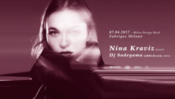 Nina Kraviz, Dj Sodeyama @ Fabrique - Milano!