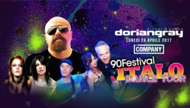 90 Festival ITALO DANCE TOUR - Dorian Gray