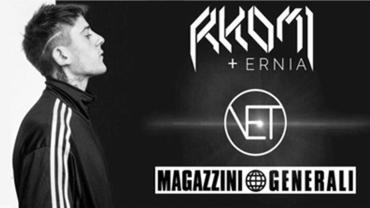 RKOMI + Ernia live at Magazzini Generali, Milano