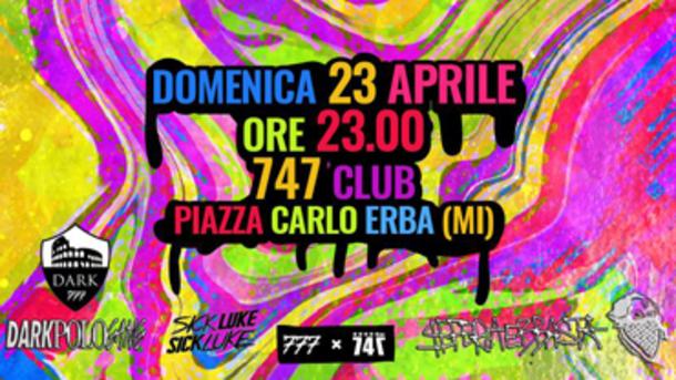 Dark Polo Gang x Sfera Ebbasta x 747 Club