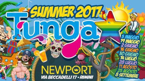 TUNGA, Summer 2017 @ Newport Rimini