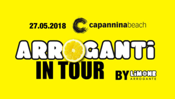 LIMONIAMO_Arroganti in Tour 2018 @ Capannina Beach
