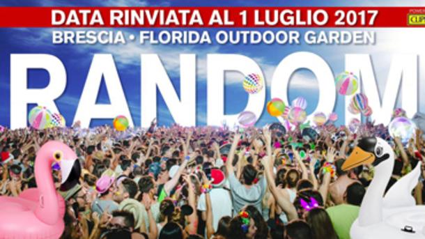 Random, una festa a caso @ Florida Outdoor Garden
