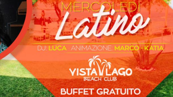 Mercoledì Latino al Vista Lago di Moniga del Garda!