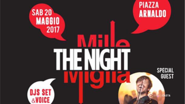 Mille Miglia: The Night, la notte bianca in Piazza Arnaldo!