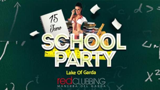 SCHOOL PARTY DEL LAGO DI GARDA - RED CLUBBING