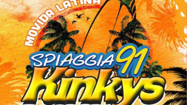 Kinkys Movida Latina @ Spiaggia 91 Rezzato, Brescia