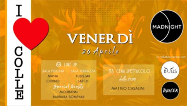 "Venerdì ""I Love Colle"""