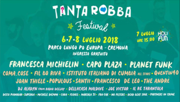 Tanta Robba Free Music Festival 2018