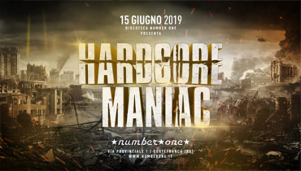 Hardcore Maniac @ discoteca Number One