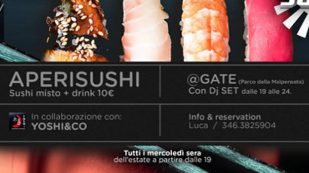 Aperisushi @ GATE - Parco Malpensata Bergamo
