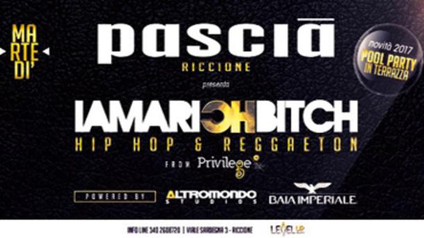 Party in Pascia Riccione I Am a Rich Bitch