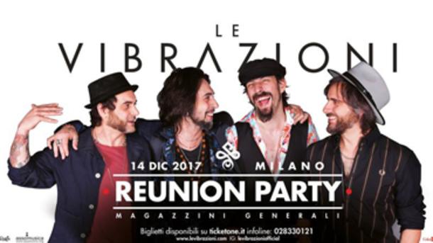 Le Vibrazioni in concerto @ Magazzini Generali Milano