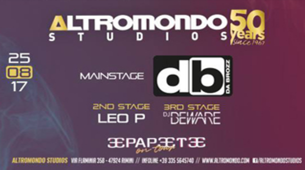 Friday on Fire @ discoteca Altromondo Studios