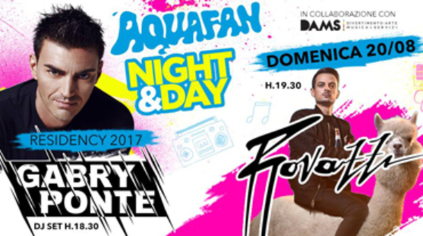 Aquafan Night & Day Gabry Ponte