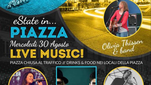 Live Music Event in Piazza Arnaldo a Brescia!