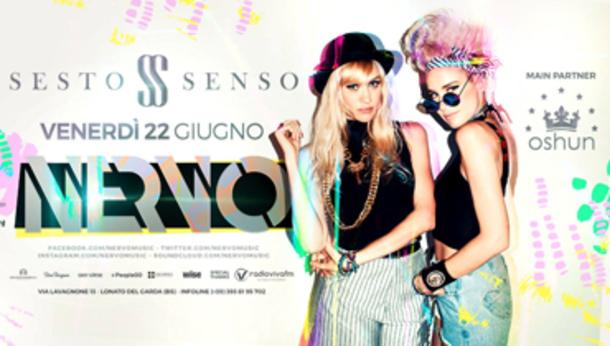 Nervo at discoteca Sesto Senso