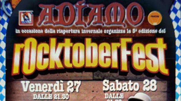 Rocktoberfest 2017 at Adiamo Jesolo