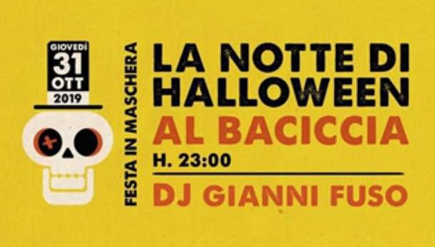 La notte di Halloween @ Baciccia, Piacenza