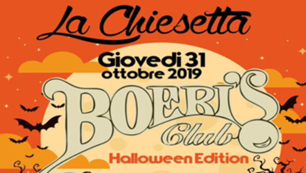Halloween 2019 alla Chiesetta by Boeri!