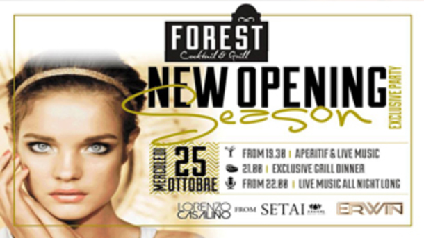 Inaugurazione #forest | Opening Season Party