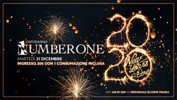 Capodanno 2020 @ discoteca Number One!