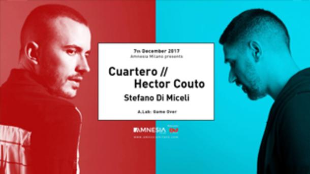Cuartero // Hector Couto, Stefano Di Miceli @ Amnesia