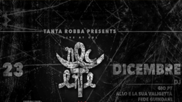 TANTA ROBBA presents NEC ENTE live at CDL