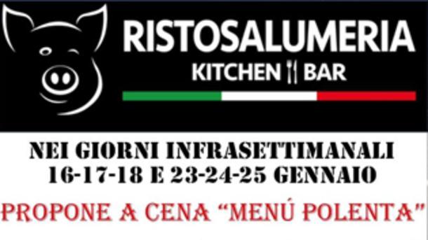 Menù Polenta alla Ristosalumeria a Brescia!