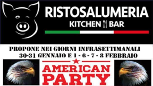 American Party alla Ristosalumeria di Brescia