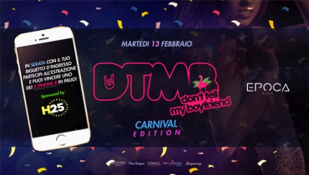 Carnival Edition + 3 iPhone 8 @ Epoca Disco