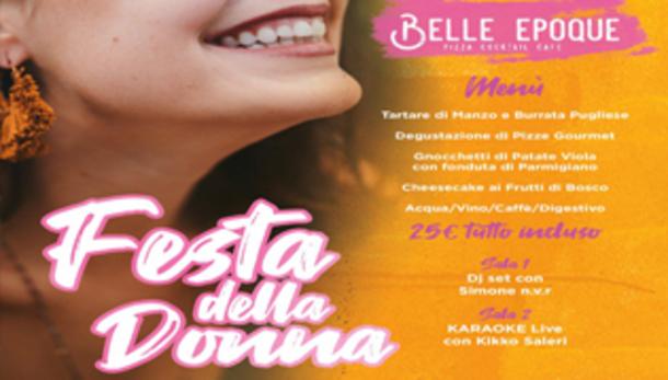 Festa della Donna 2019 al Belle Epoque di Brescia!
