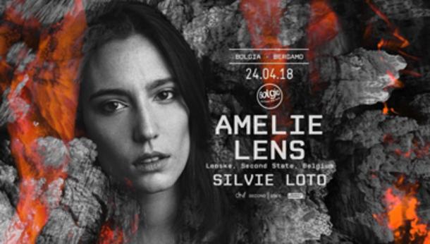 Amelie Lens at discoteca Bolgia