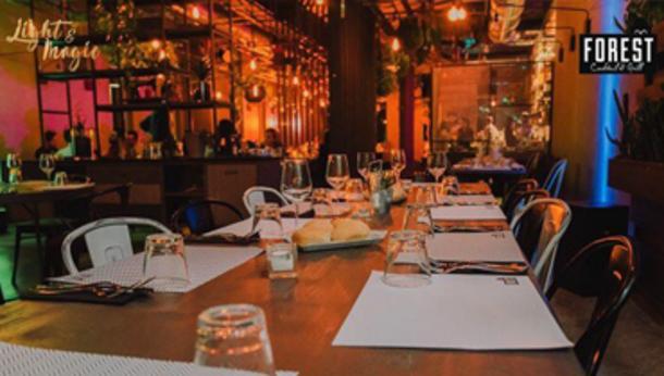 Sabato | Live Show Dinner Forest Grassobbio