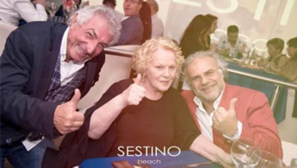 Katia Ricciarelli al Sestino Beach!