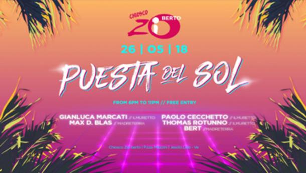 Puesta del Sol | at Chiosco Zio Berto (P.zza Mazzini, Jesolo)