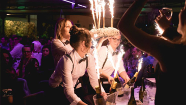 Sabato sera al Moulin Rouge di Brescia
