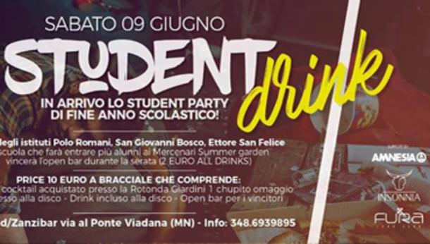 Student Party a Viadana (Mantova)